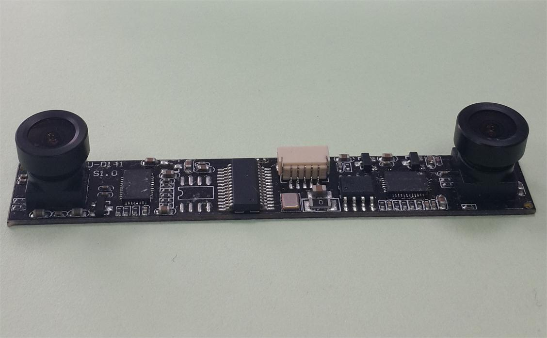 USB接口双摄像头模组